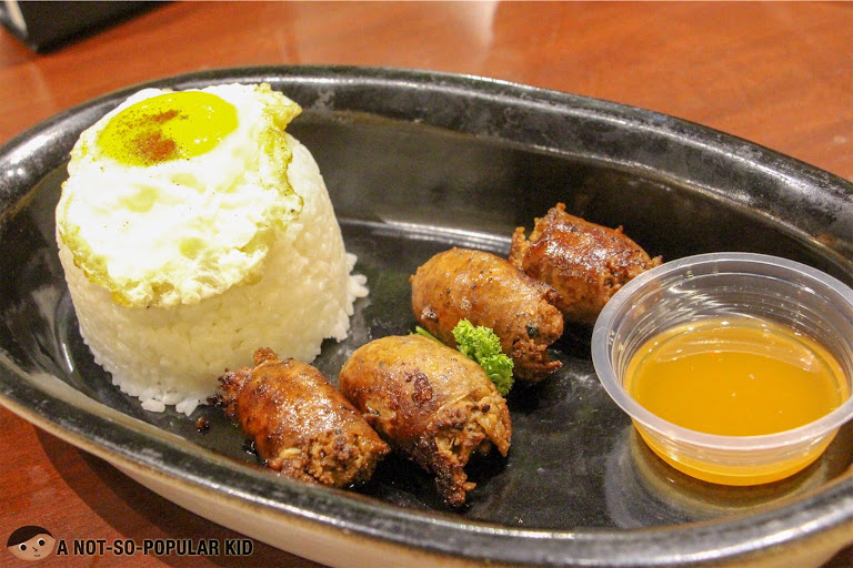 Longganisa Ilocandia Breakfast Platter in Bluesmith Kitchen