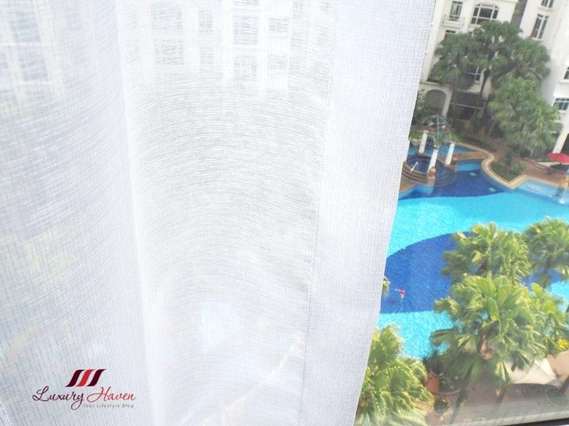 casablanca pool view jotex day curtain window sheer