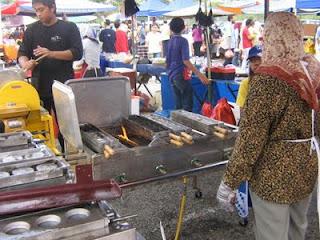 Berniaga Akok Di Bazaar Ramadhan Shah Alam