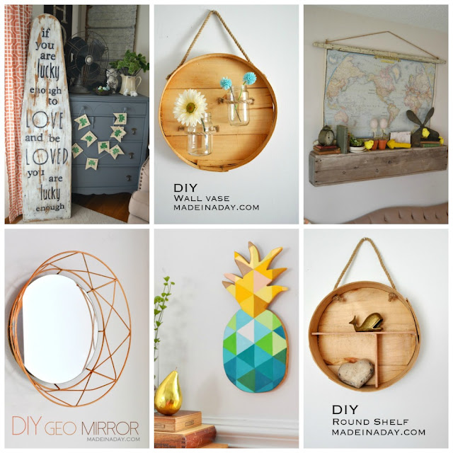spring ideas for the walls