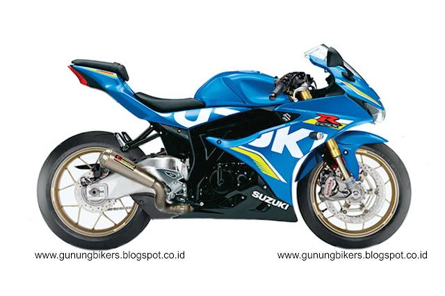 Modifikasi Suzuki GSX 150 R Kaki-kaki Cbr Fireblade