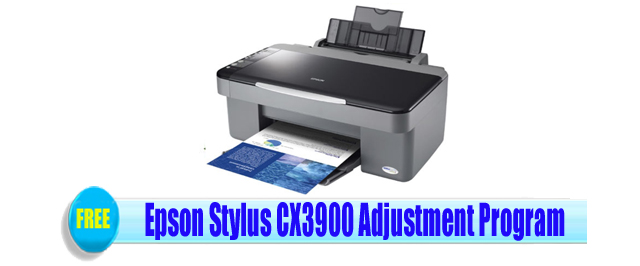 Epson Stylus CX3900 Adjustment Program