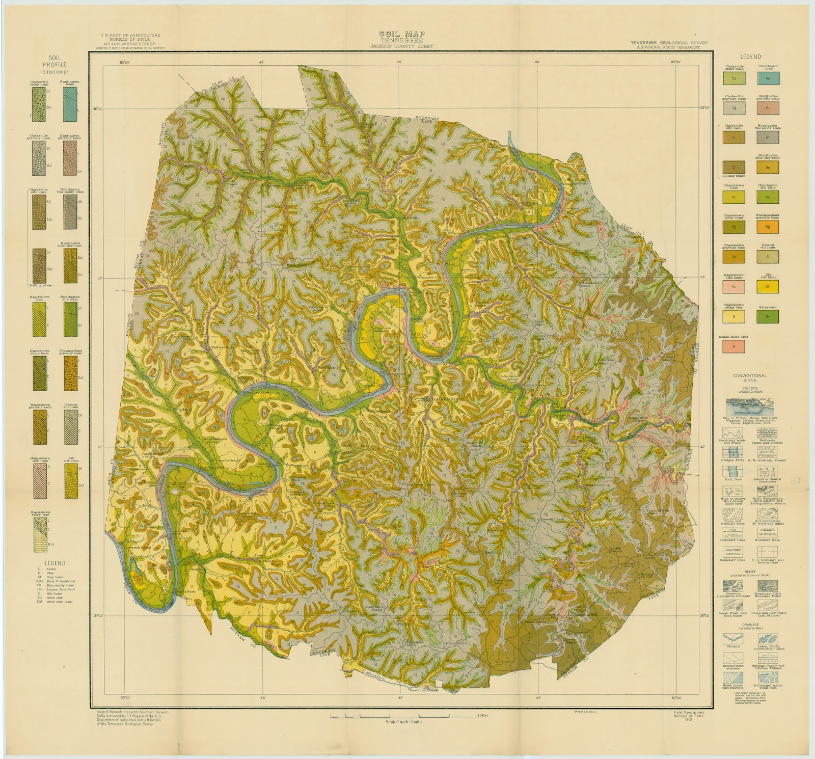 Library Archives News The Tennessee State Library And Archives - Tennessee maps