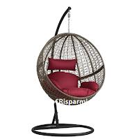 Logo Vinci gratis 1 poltrona sospesa in rattan del valore di 477,99