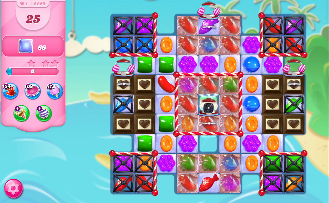 Candy Crush Saga level 6229