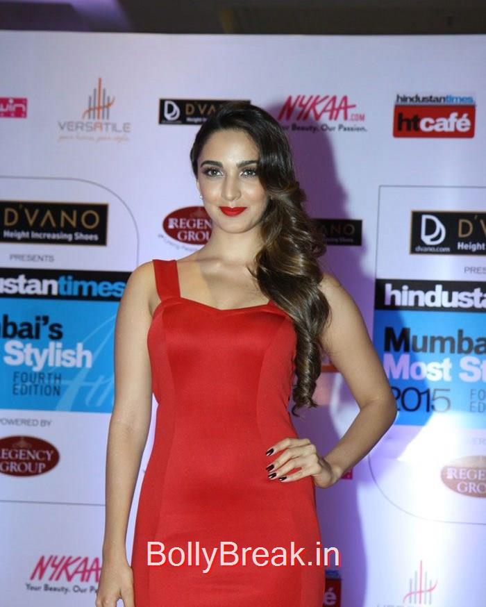 Kiara Advani, Mumbai's Most Stylish Awards 2015 Full Photo Gallery