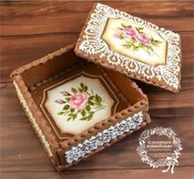 Beberapa orang dianugerahi tangan ajaib yang bisa mengubah adonan kue bisa menjadi kotak kue yang cantik luar biasa.