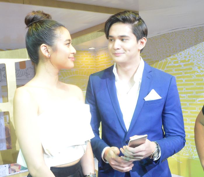 Gabbi Garcia and Ruru Madrid.