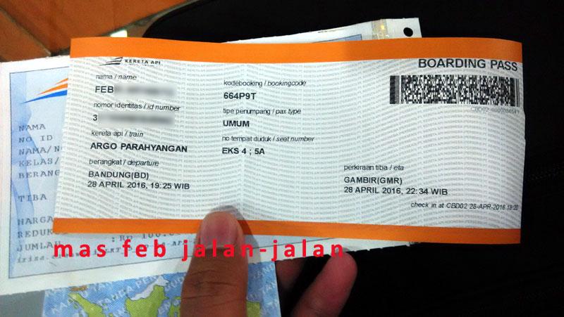 Stasiun Bandung Gunakan Boarding Pass Untuk Penumpang Ka