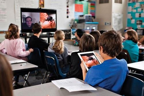 hội nghị truyền hình Polycom đào tạo từ xa