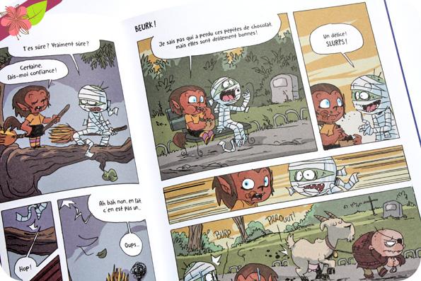 Loulou et Mono - Même pas peur ! de Hervé Eparvier et Mickaël Roux - éditions Tourbillon