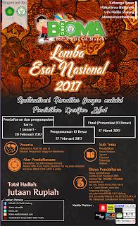 BIOMA 2017(ESAI NASIONAL)