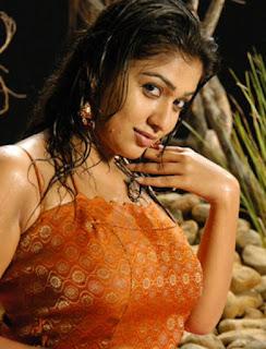 Nayanthara wet