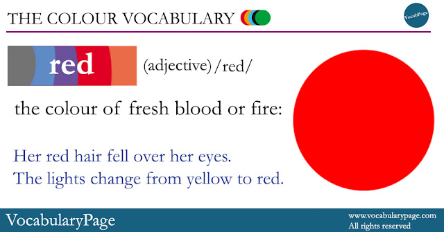 Red definition