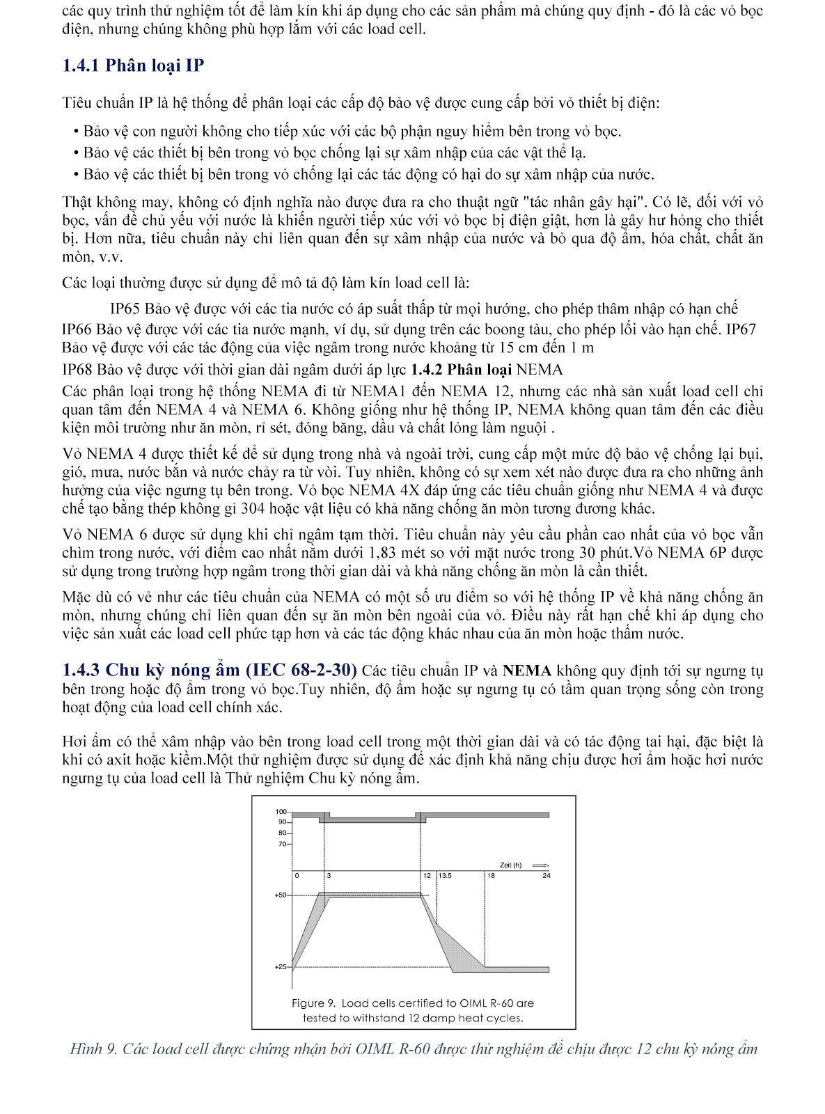 Lưu ý kỹ thuật về Load cell và module cân điện tử (tt) 8