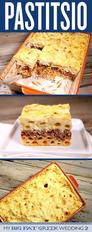PASTITSIO (GREEK LASAGNA) #pastitsio #lasagna #lasagnarecipes #greeklasagna #bestlasagna