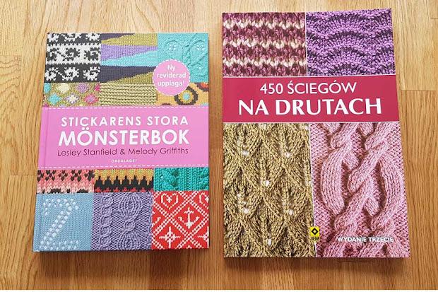 Ściegi na druty - książki.