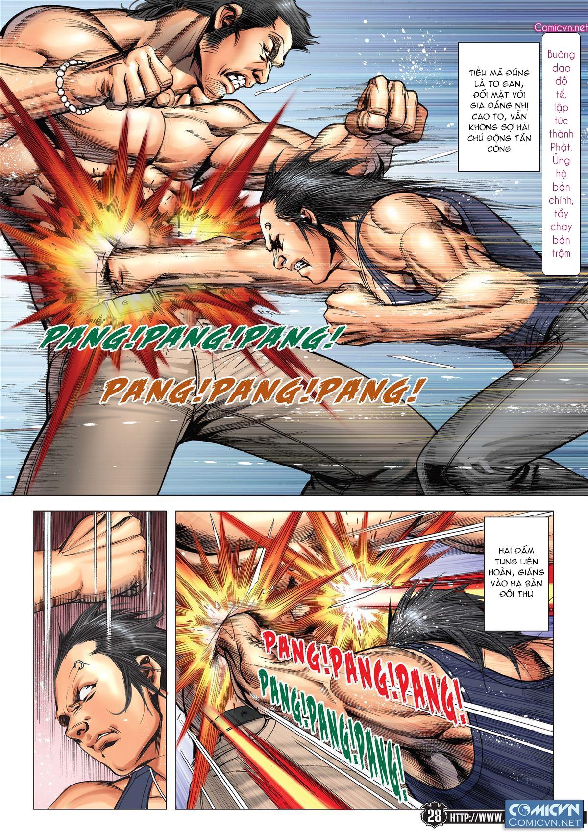 Người Trong Giang Hồ chapter 2148: tiểu mã vs gia đằng nhị trang 24