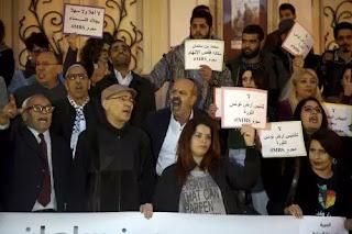 Saudi Prince Arrive Tunisia Despite Protest Form Tunisians over Khashoggi Murder