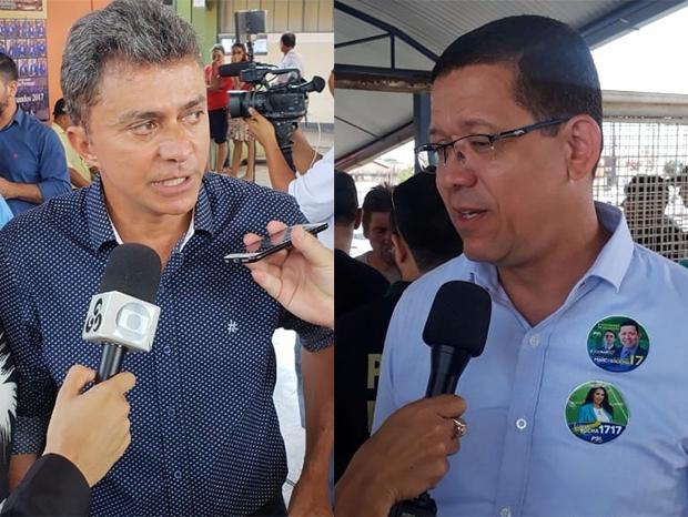 coronel Marcos Rocha (PSL) e Expedito Júnior