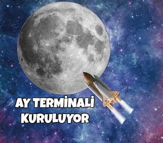 uzay, bilim, ay terminali, ayın karanlık yüzü, çin aya neden gitti, ay terminali,  uzay üssü, uydu, galaksiler arası yolculuk,