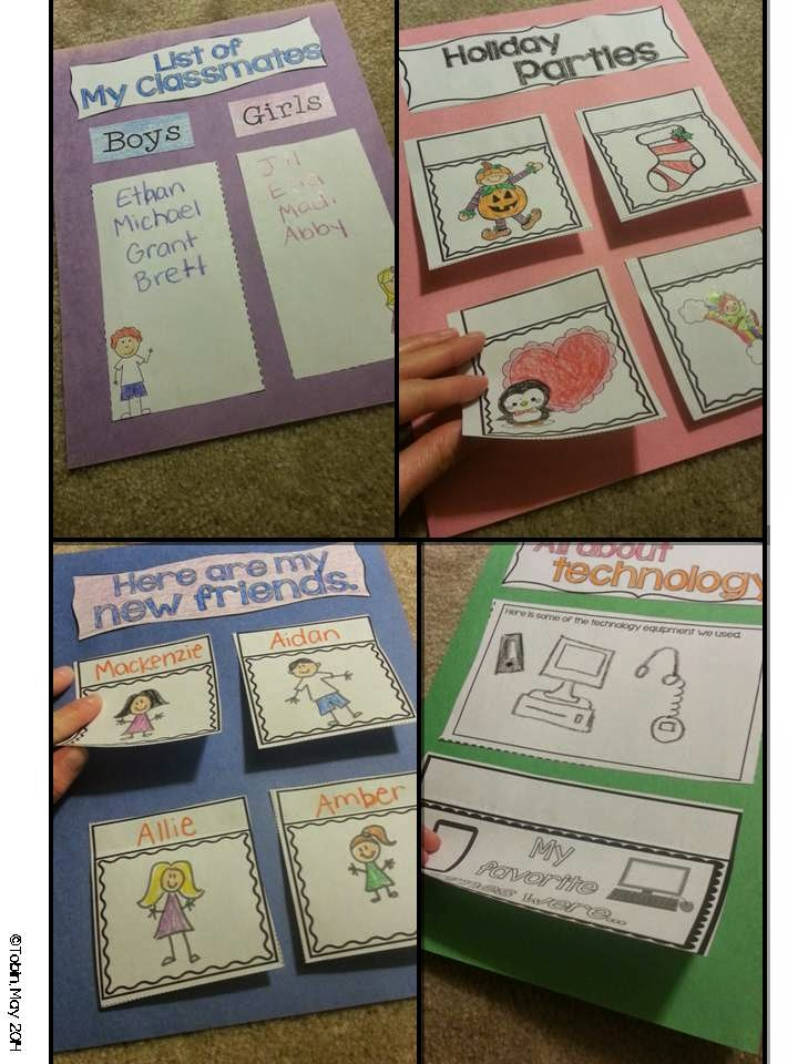 Memory books for the end of the year- interactive memory books to help students wrap up their year