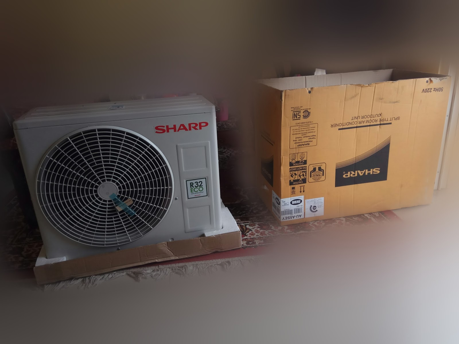 Sharp Air Conditioner Jetstream Plasmacluster Series 05pk Ahap5ssy Ac Split Sayonara Panas Ah Ap5shl 05 Pk Low Watt Putih Outdoor A5sey Dengan Tipe Au Tampak Di Badan