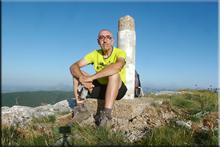 Peña Lampa mendiaren gailurra 1.804 m. - 2017ko uztailaren 9an