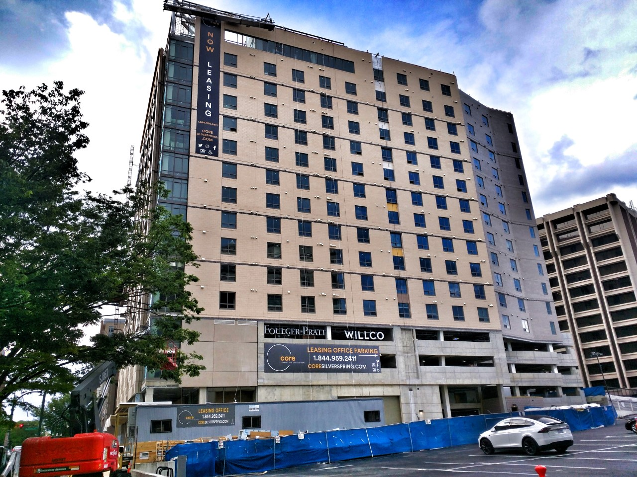 The Leasing Center Is Open On Site For The Future Core Apartments At 8621  Georgia Avenue In Downtown Silver Spring. It May Look Like A Construction  Site ...