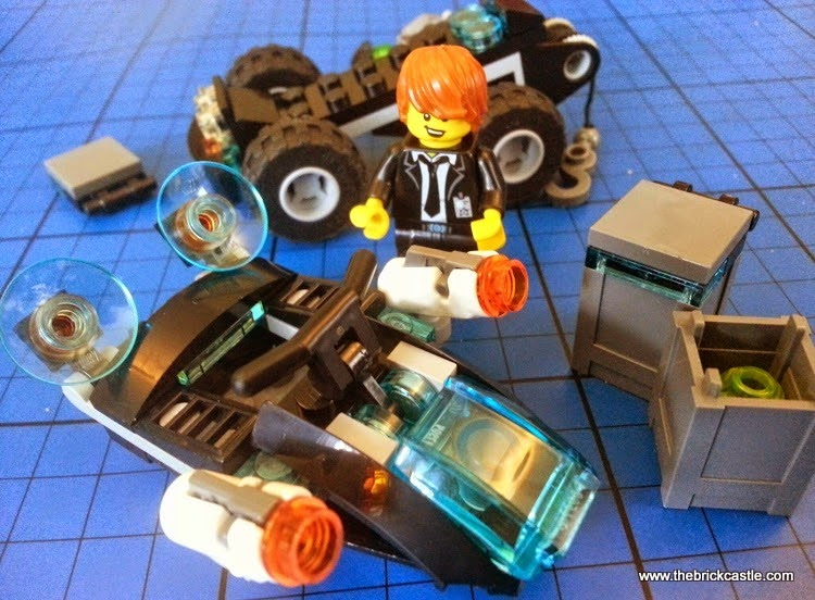 LEGO Ultra Agents Riverside Raid 70160 Review Full set
