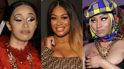 """Rah Ali amiga de Nicki Minaj ameaça irmã de Cardi B """"Você é a próxima""""."""