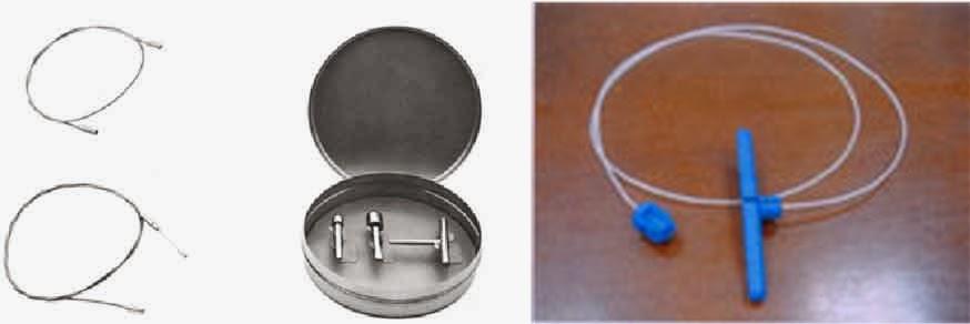 A veia safena é retirada com um aparelho que chama-se fleboextrator, que pode ser de metal ou plástico