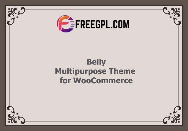 Belly - Multipurpose WordPress Theme for WooCommerce Nulled Download Free