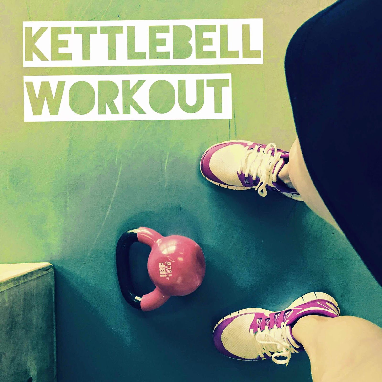 Image of kettle bell workout