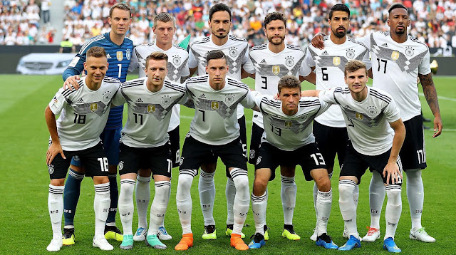 World cup 2018 favorites - Germany