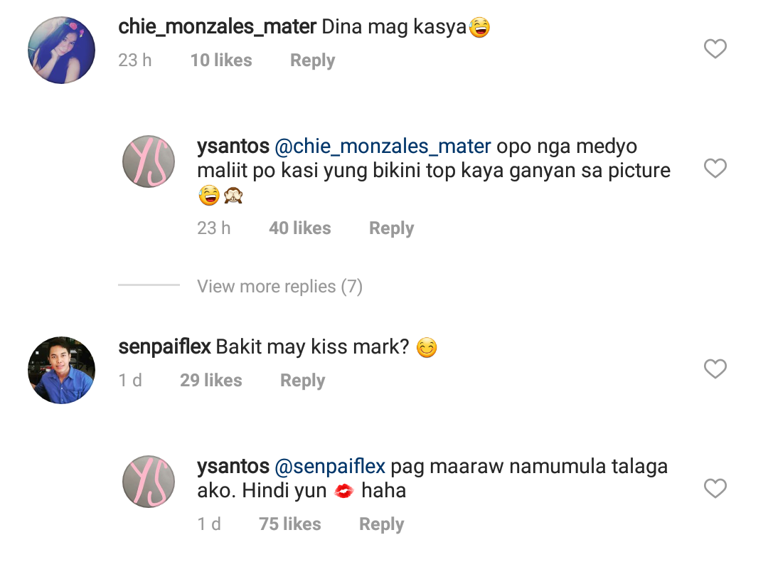 Fashion Pulis Insta Scoop Yen Santos Replies To Questions On Her