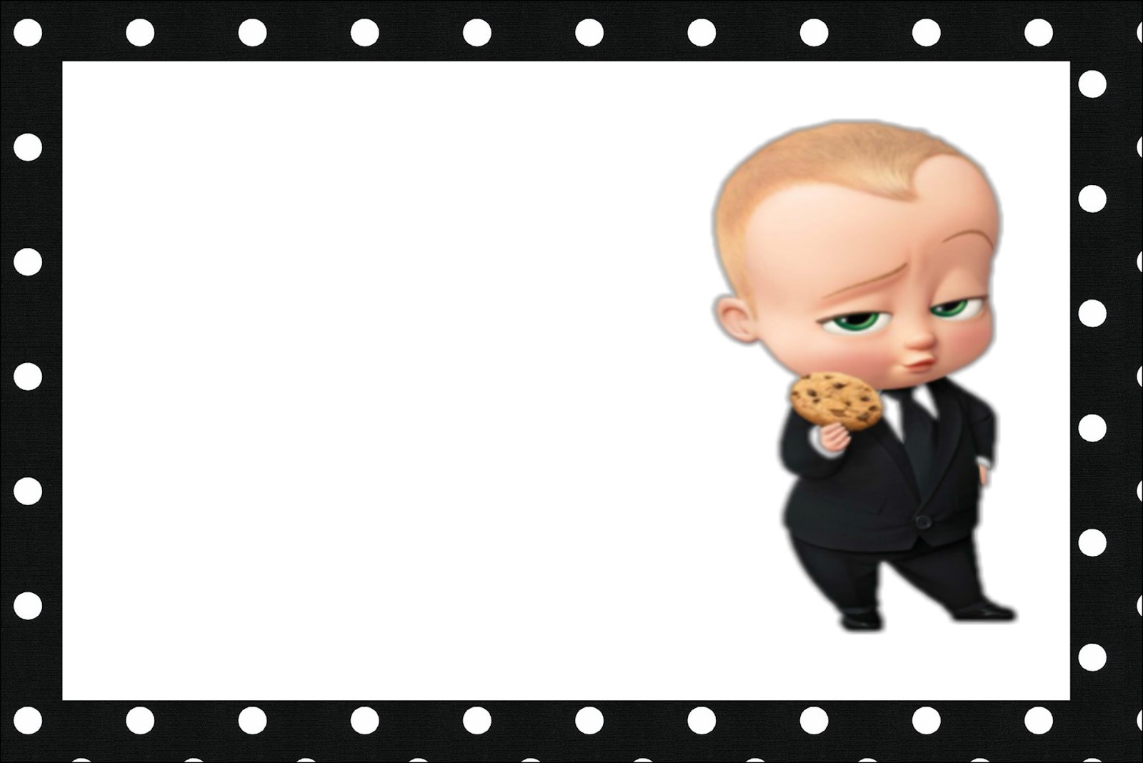 photograph relating to Boss Baby Printable referred to as The Manager Boy or girl Celebration Absolutely free Printable Invites. - Oh My Kid!
