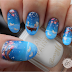 Freehand Boat Nail Art - Bertie Mcburtlebutton & Ms Blueberry-Baebae Bouffant