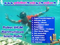 Harga Paket Wisata Karimunjawa Murah 3H2M Rabu-Jumat
