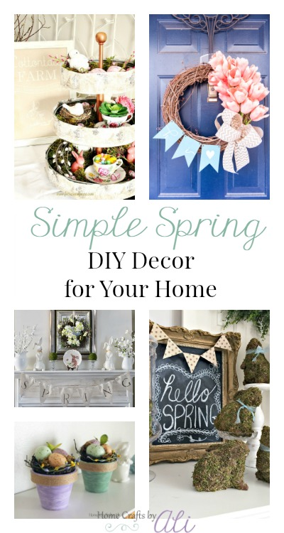 Spring decorating project ideas