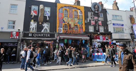 A Londres alternativa: Camden Town