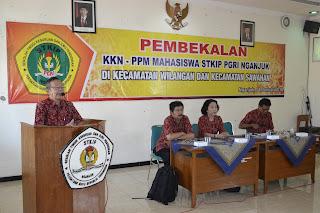 Pembekalan KKN STKIP PGRI Nganjuk 2018