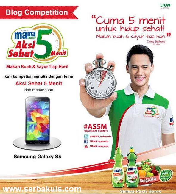 Kontes Blog Berhadiah SAMSUNG Galaxy S5