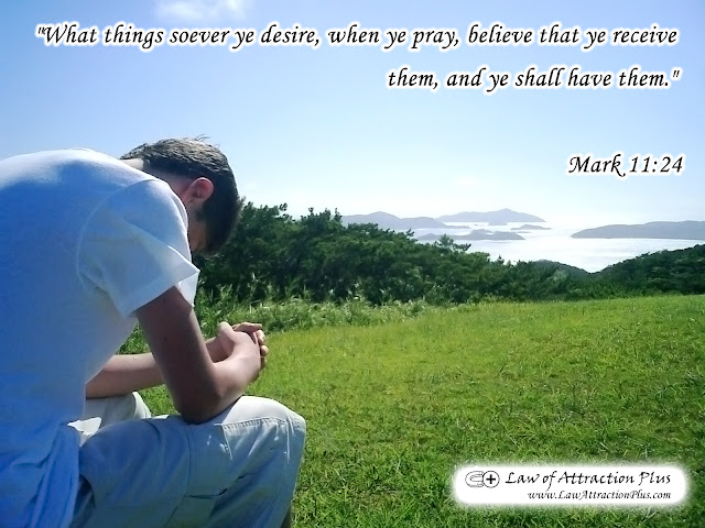 """What things soever ye desire, when ye pray, believe that ye receive them, and ye shall have them."" Mark 11:24 (Wallpaper + Quote)"