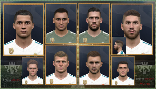 Fix Facepack PES 2017