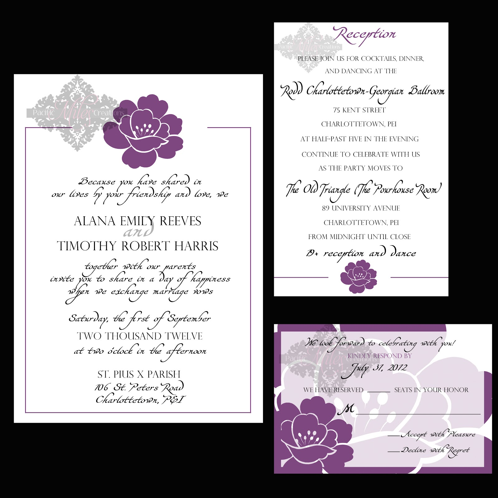 Wedding Invitations Samples: Contoh Informal Invitation Card For A Birthday Party
