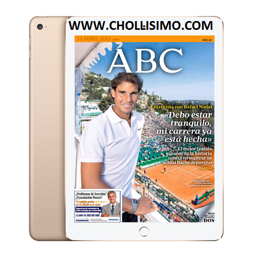 Promoción IPAD AIR 2 DEL ABC