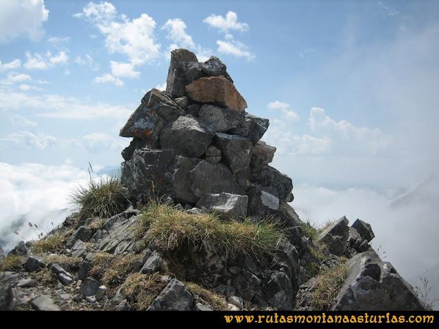 Ruta Tuiza - Portillín - Fontanes: Cima del Portillín Oriental
