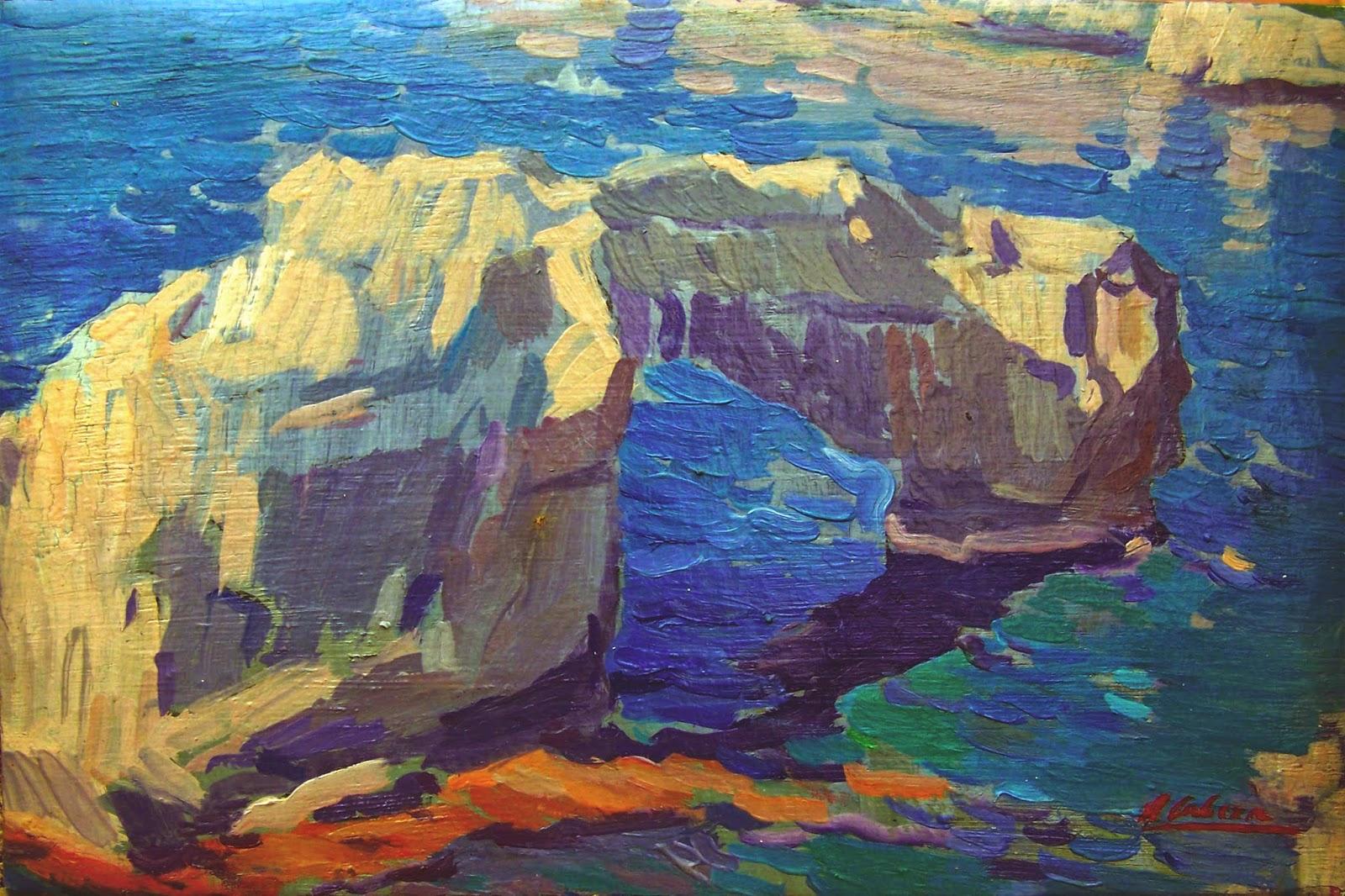 Mallorca en Pintura Alejandro Cabeza 1971