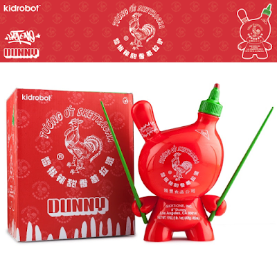 "Sketracha 8"" Dunny Vinyl Figure by Sket One x Kidrobot"